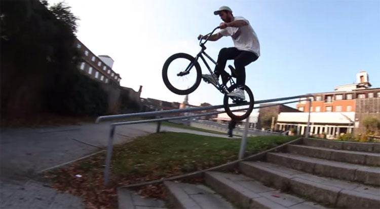 Kris Bunnage BMX video Custom Riders