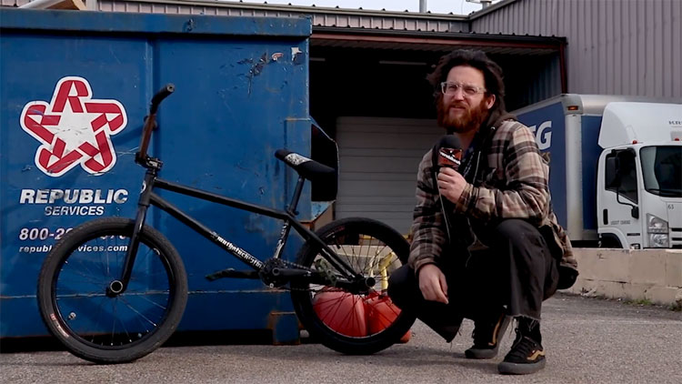 Latane Coghill Video Bike Check BMX