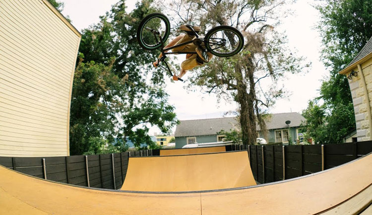 Magnolia Ramp New Orleans BMX video