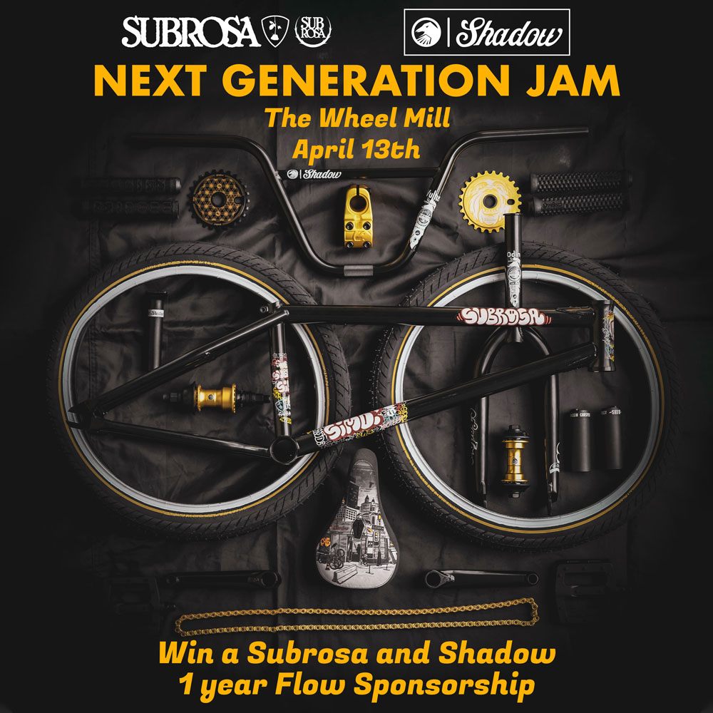 Next Generation Jam Flow Sponsorship Shadow Conspiracy Subrosa