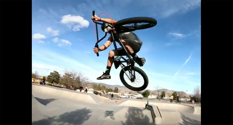 Rubio Brothers BMX video Indian Hills Skatepark