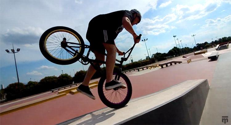Cam Peake Mongoose BMX video