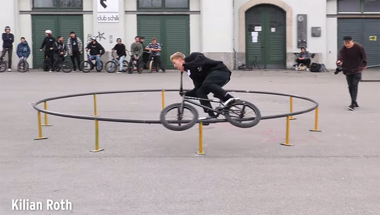Ciao Crew Reithalle Ulm BMX video