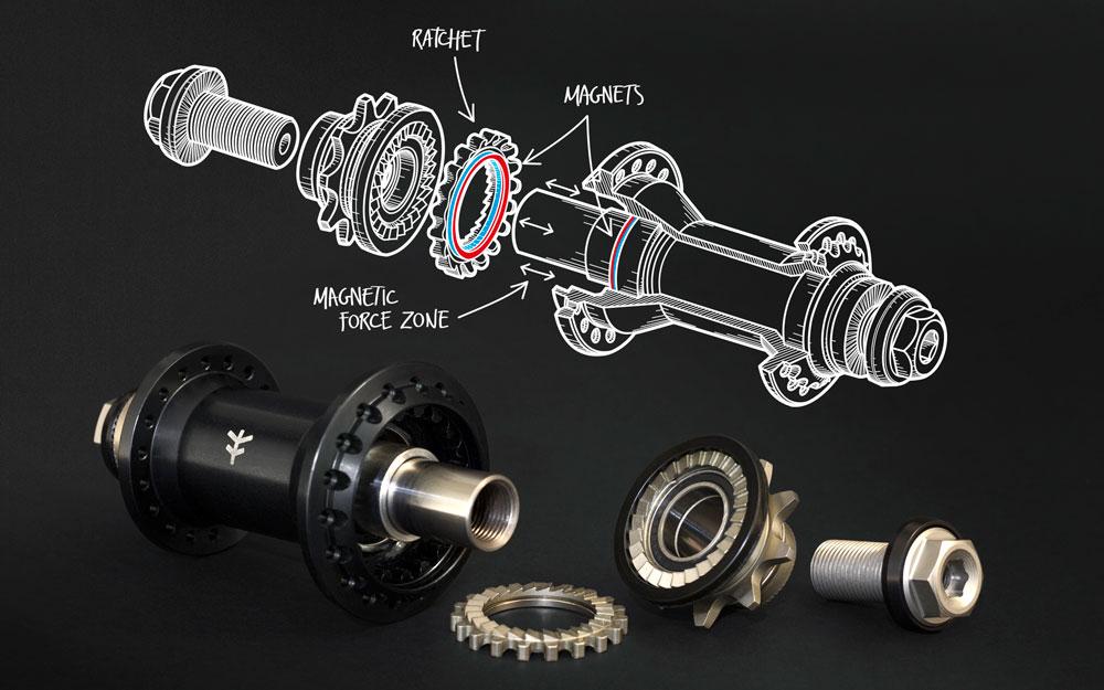 Flybikes Magneto Cassette Hub internals BMX