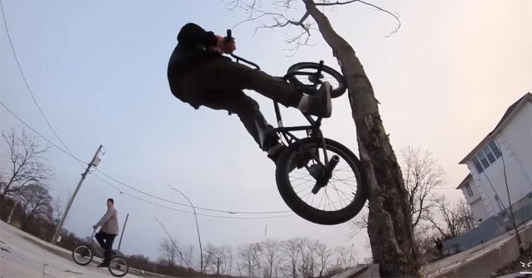 BMXFU Fridge Tape 3 BMX video