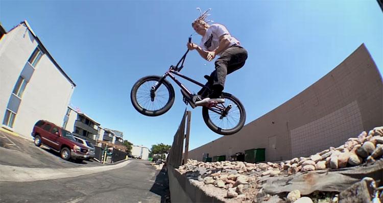 Johnny Raekes Ride BMX Headlights DVD BMX video