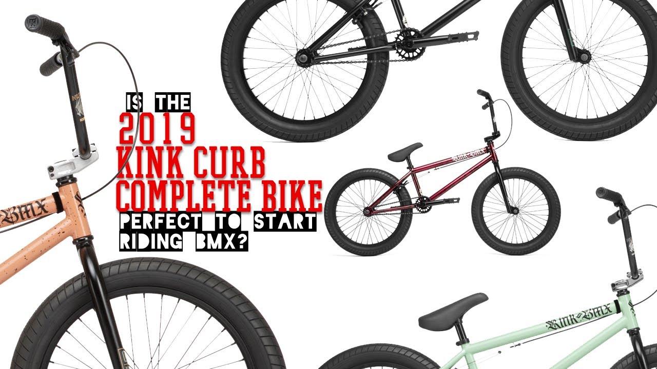2020 Kink BMX Curb Complete BMX bike