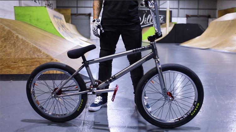 Logan Martin 2019 Bike Check BMX