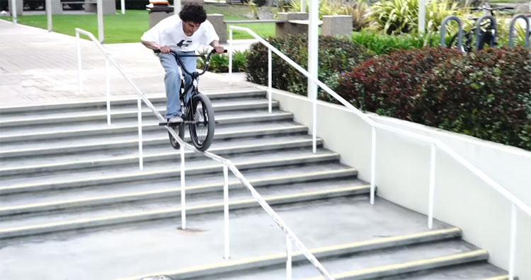 Miki Fleck California BMX video