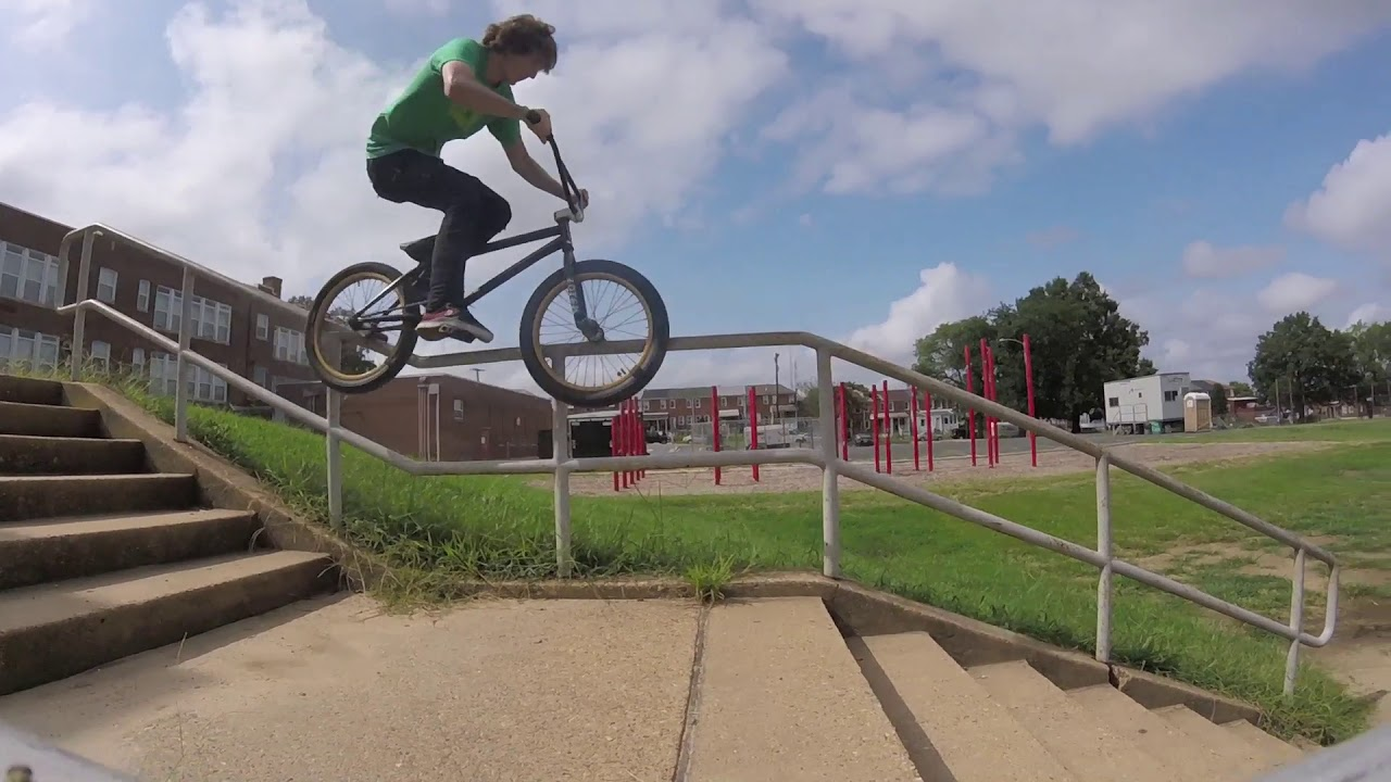 No Handrail Is Safe BMX video