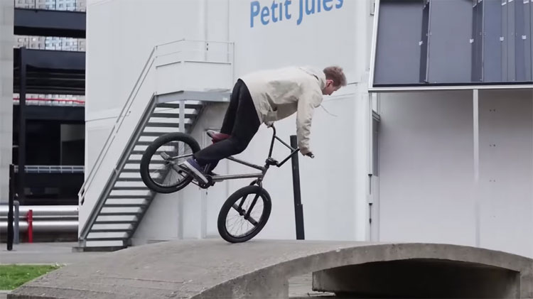 Robin Bourhis Wethepeople BMX Eclat BMX video