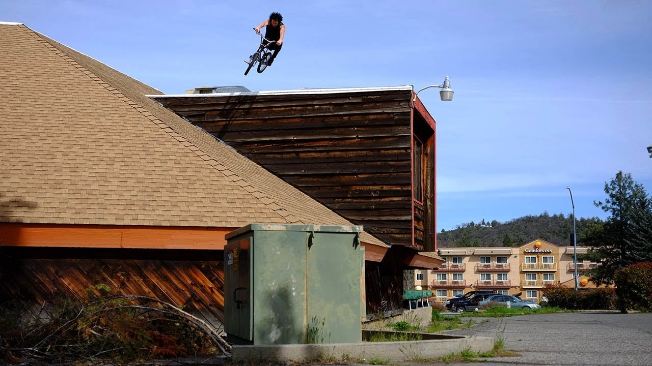 Sean Burns Bone Deth Too Fast For Food BMX video