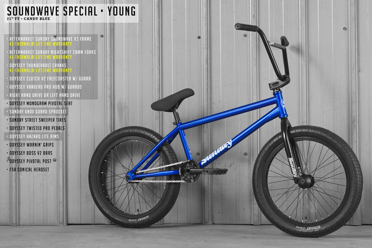 Sunday Bikes 2020 Soundwave Special BMX