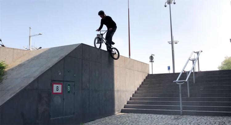 Twan Van Wijk No Pegs No Problem BMX video