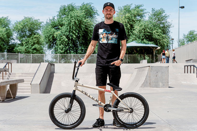 Volume Bikes Eric Bahlman Bike Check BMX