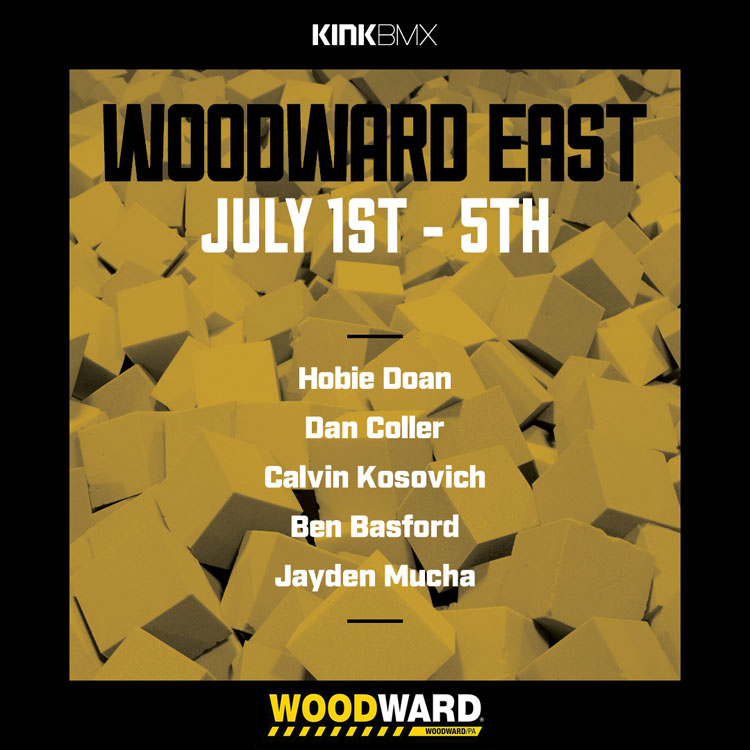 Kink BMX Woodward East