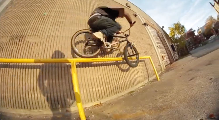 90East in The Field BMX video