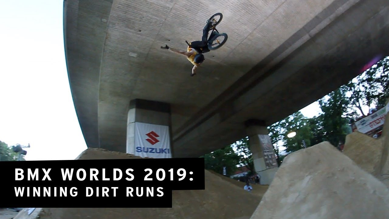 2019 BMX Worlds Dirt Top 3 BMX video