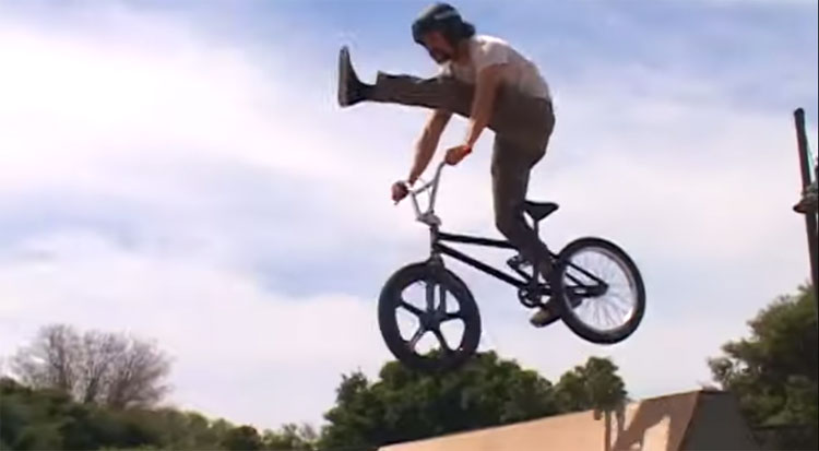 Bone Deth Dirt Ron Too Fast For Food BMX video