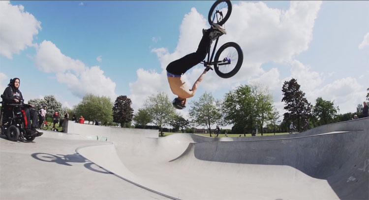 Brad Mulholland Seth Murray BMX video