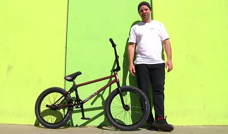 GT Bicycles Brian Kachinsky Video Bike Check BMX
