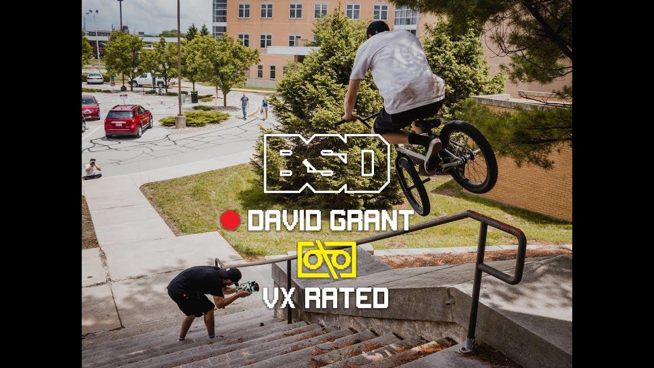 BSD David Grant VX Rated BMX video