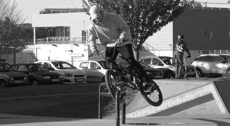 David Gomes Session Libre Bros Bike Store BMX video