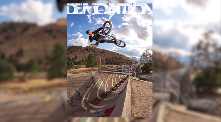 Dennis Enarson Behind the Poster Demolition Parts BMX video