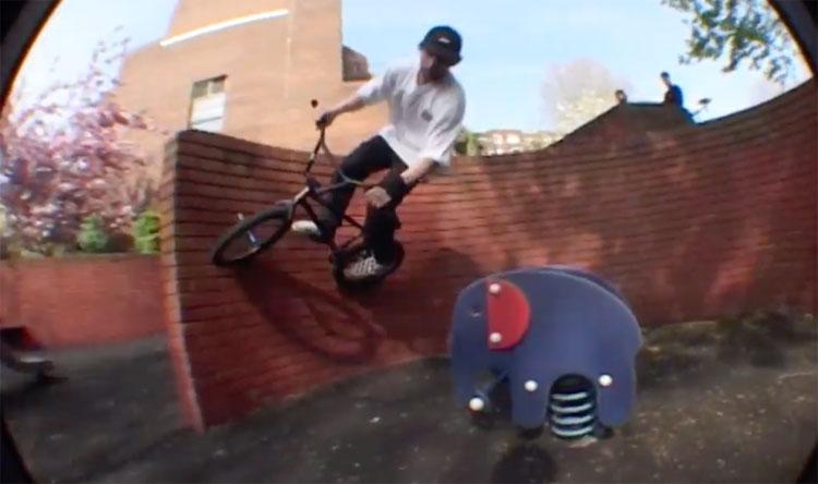 Emerson Morgan Fathead London BMX video