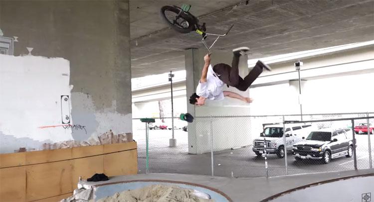 Fit Bike Co F-Log Party at Permission Pool BMX