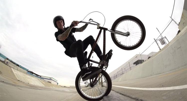 Fit Bike Co. Joe Battaglia Ditch BMX video
