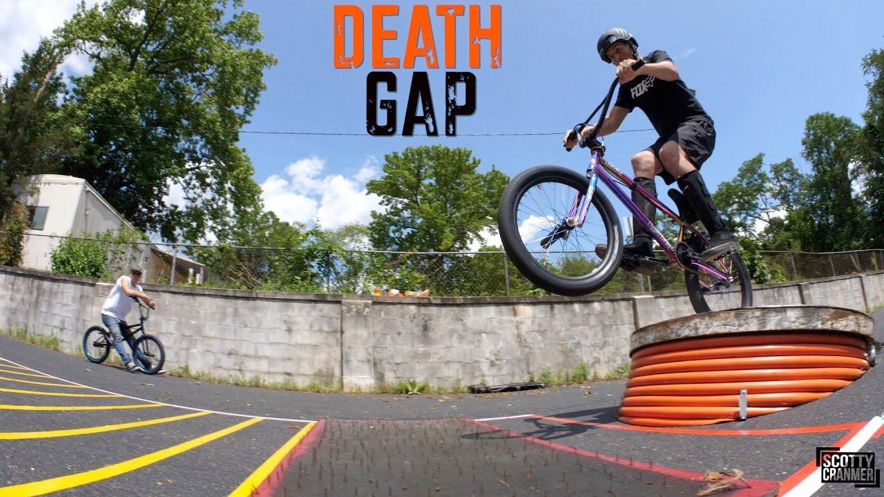 Flat Tire Death Gap Scotty Cranmer BMX