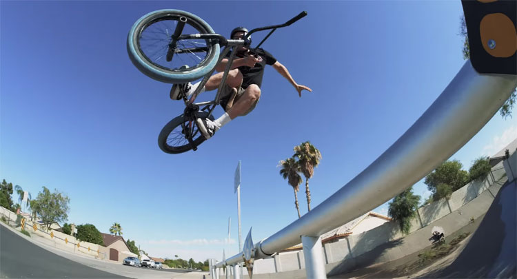 GT BMX In Arizona Albert Mercado Jeff Purdy