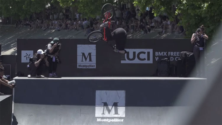 Hannah Roberts Wins FISE Montpellier 2019 BMX