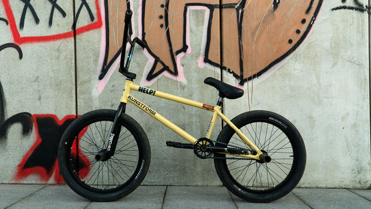 Kink BMX Artur Meister Bike Check BMX