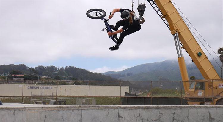 Kris Fox Mental Exodus BMX video Demolition Parts