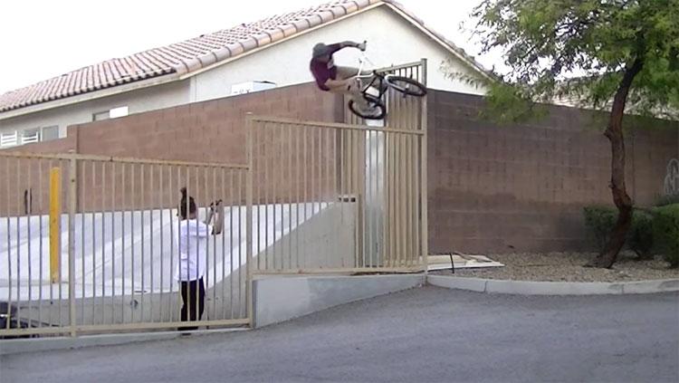 Matt Closson Desert Town BMX video