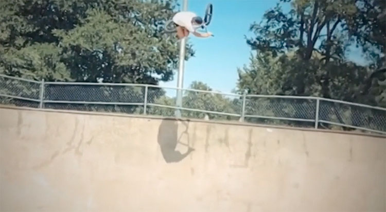 Maxime Bonfil BMX video ATX Spring