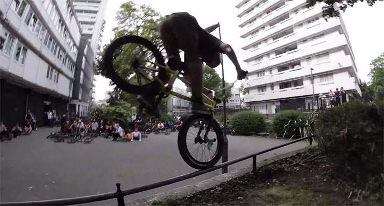 Metal Pegs Bank Holiday Weekend BMX Jam Video