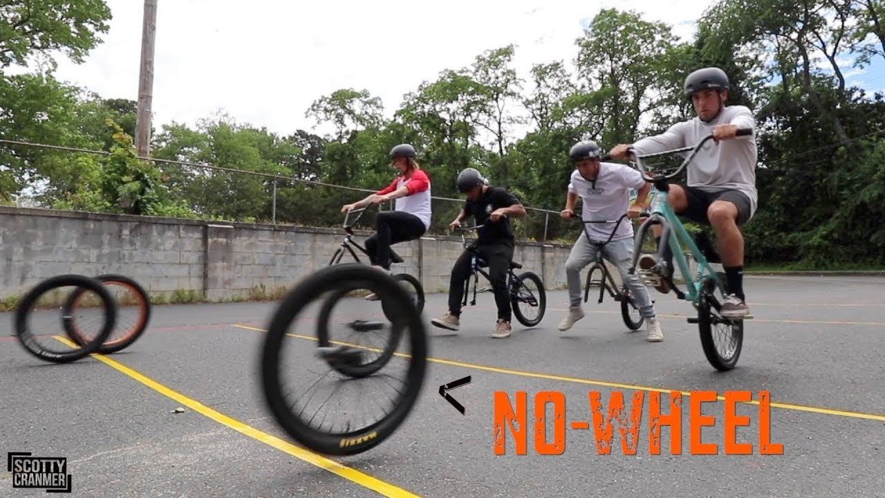 No Wheel Manual Challenge BMX