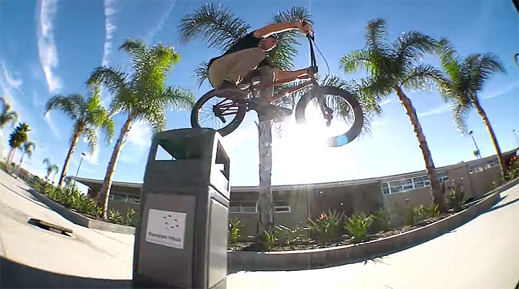 "Ryan ""Biz"" Jordan Headlights B Sides BMX video"