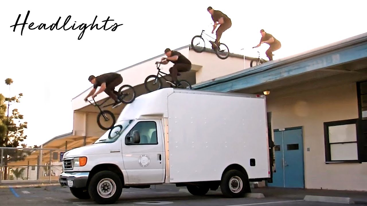 Ryan Biz Jordan Headlights BMX video