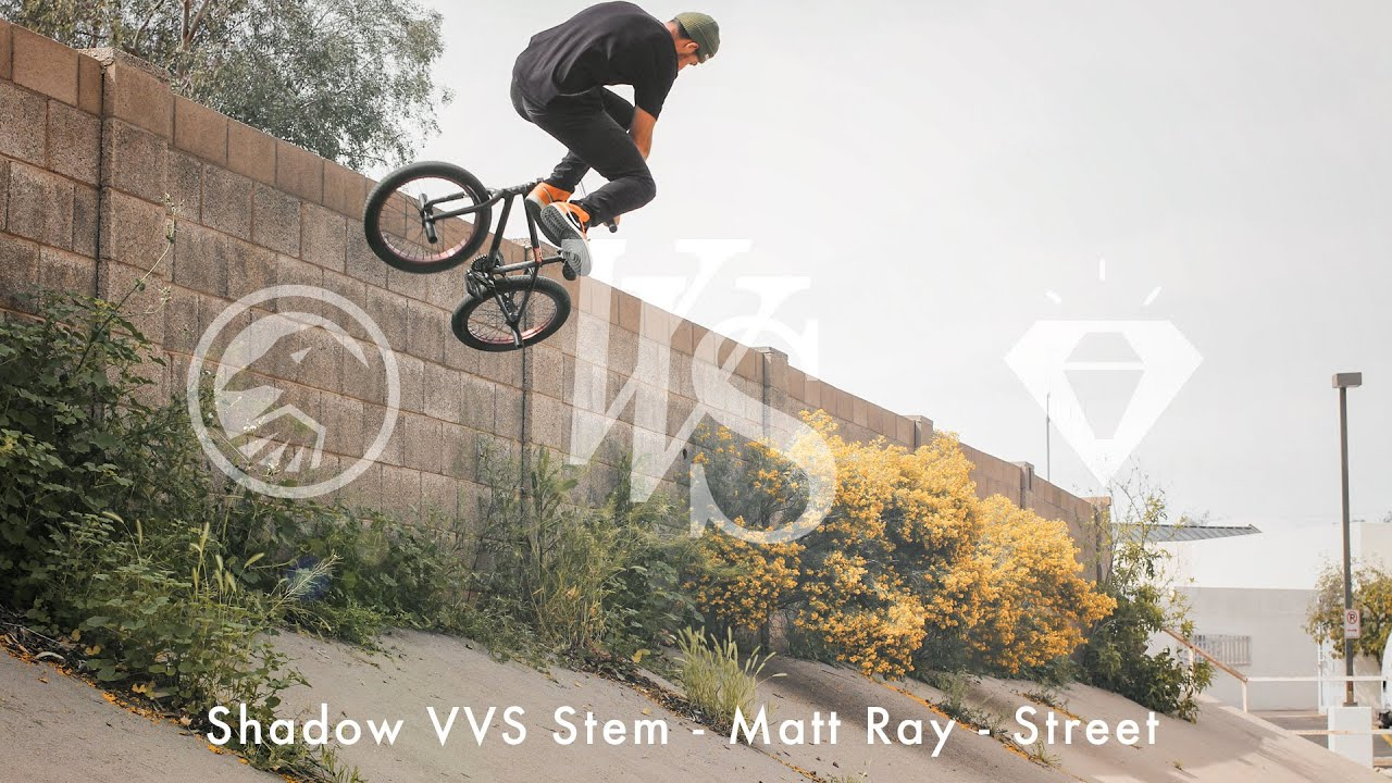 Shadow Conspiracy Matt Ray VVS Stem Promo BMX video