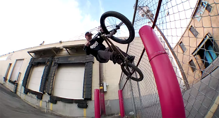 "Shawn ""Elf"" Walters Headlights BMX video"