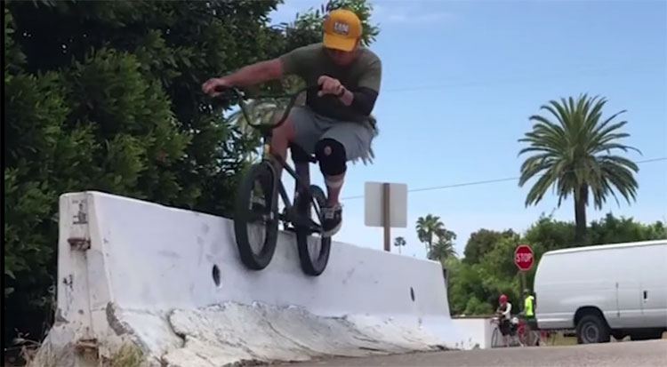Chris Moeller 48 Something BMX video S&M Bikes