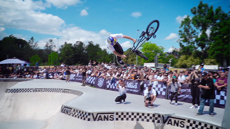 Vans BMX Pro Cup Stuttgart Germany BMX video highlights top 3
