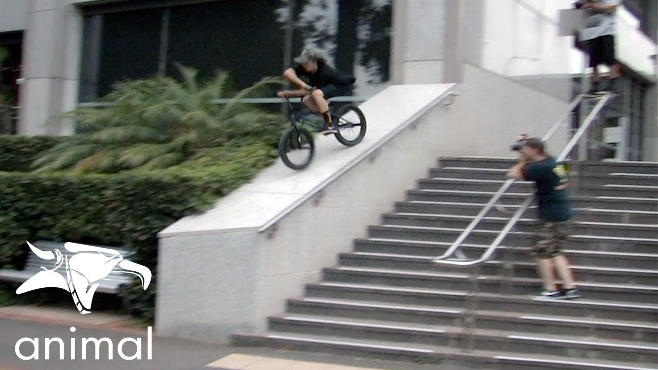 Animal Bikes James Pease Welcome BMX video