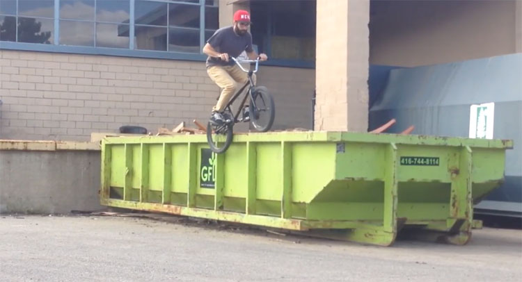 Chris Silva 35 To Life BMX video