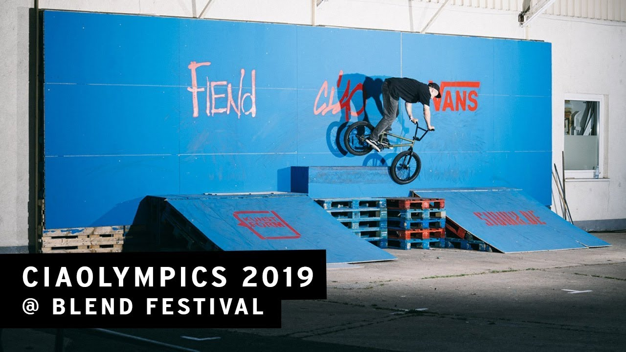 Ciaolympics 2019 BMX video