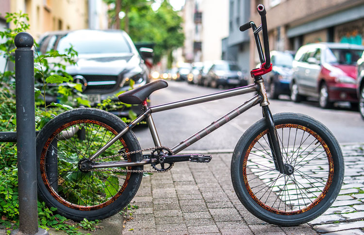 Colony BMX Chris James Bike Check